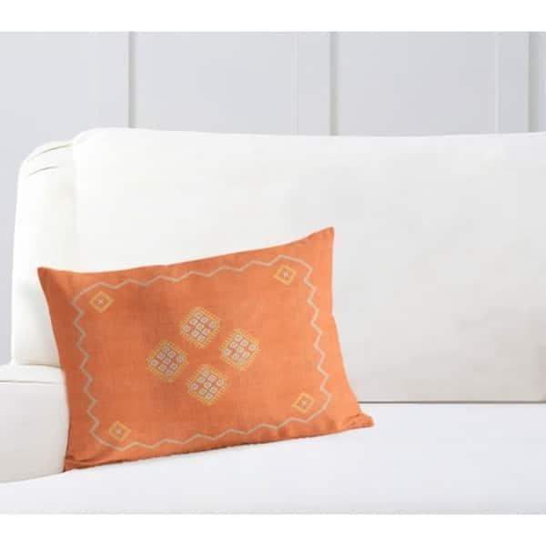 Wholesale Pillow Pillow Covers Orange Pillow Designer Pillow Lumbar Pillow Throw Pillows 3033 12x24 Kilim Pillow Striped Pillow