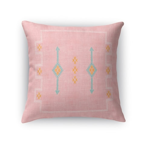 Cactus Silk Blush Accent Pillow By Kavka Designs