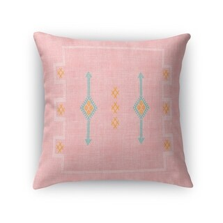 Cactus Silk Blush Accent Pillow By Becky Bailey