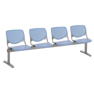 Link to KFI KOOL 4 Seat Beam Bench, Peri Blue Similar Items in Office & Conference Room Chairs