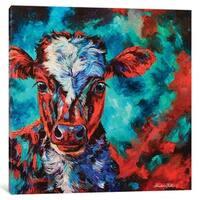 "iCanvas ""Cosmic Calf"" by Lindsey Dahl Canvas Print"