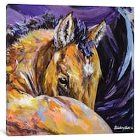 "iCanvas ""Peach"" by Lindsey Dahl Canvas Print"