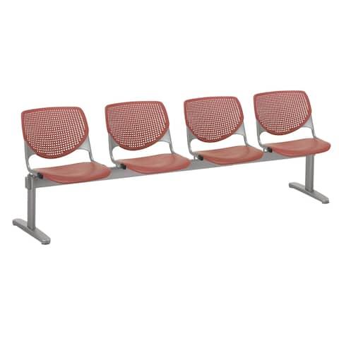 KFI KOOL 4 Seat Beam Bench, Coral