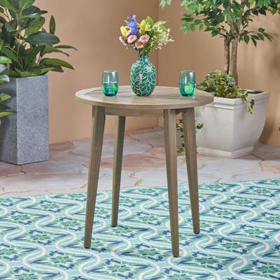"""Stamford Outdoor Bistro Table by Christopher Knight Home - 30""""H x 27.50""""W x 27.50""""D"""