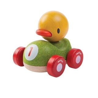 PlanToys Wooden Duck Racer Mini Vehicle