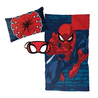 Marvel Spiderman Zaap 3-piece Sleepover Set