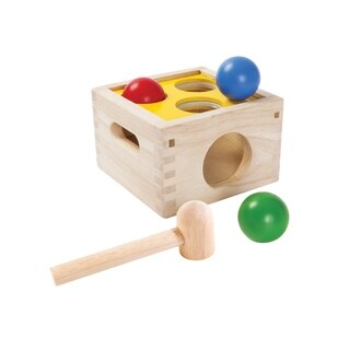 PlanToys Punch & Drop Learning Toy