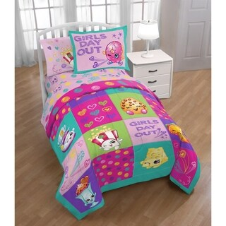 Shopkins Girls Day Out Reversible Twin 2-piece Comforter Set