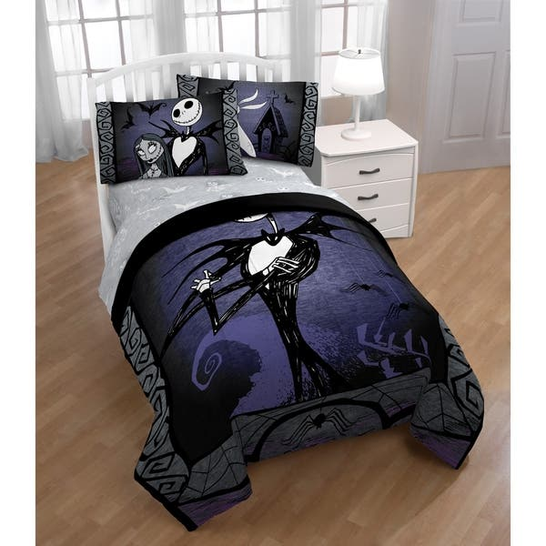 Nightmare Before Christmas Bedroom.Disney Nightmare Before Christmas Meant To Be Reversible Comforter