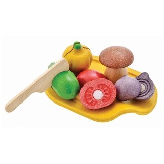 PlanToys Pretend Play Assorted Vegetable Set