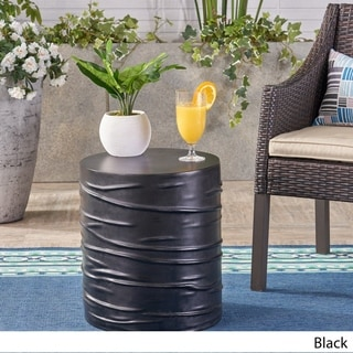 Zapara Outdoor Side Table by Christopher Knight Home