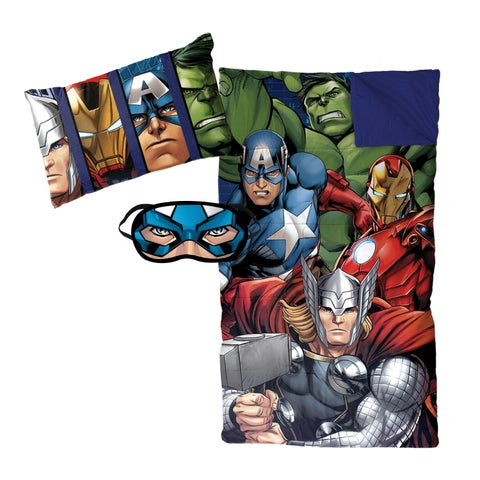 Marvel Avengers Assemble 3-piece Sleepover Set