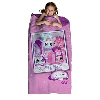 "Shopkins Slumber Bag and Backpack Set, 30"" x 60"""