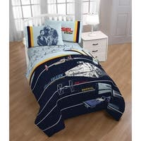 Star Wars Han Solo Vehicle Stripe Reversible Twin Comforter
