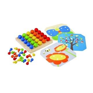 PlanToys Creative Peg Board Learning Toy