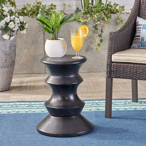Eureka Outdoor Side Table, Christopher Knight Home