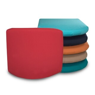 "18"" x 17"" Waterproof Sunbrella Memory Foam Seat Cushion - 18""x17"""