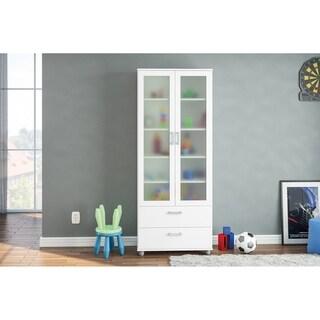 Polifurniture Livramento Bookcase, White