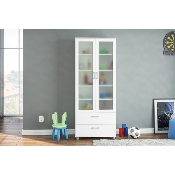 Polifurniture Livramento Bookcase, White