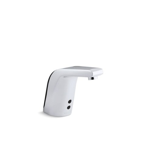 Kohler Sculpted Polished Chrome Touchless Commercial Bathroom Sink Faucet