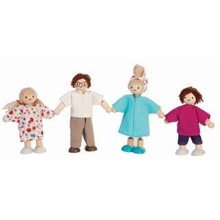 PlanToys Dollhouse Doll Family