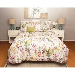 Arboretum Tropical Plush 5 piece Comforter Set