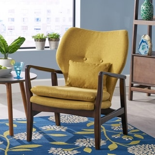 Haddie Mid Century Modern Club Chair by Christopher Knight Home