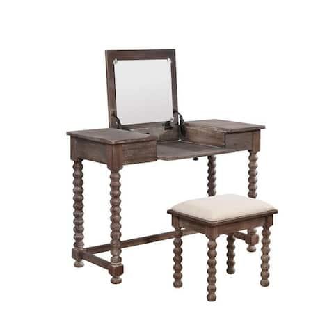 Kinley Spindle Vanity Set