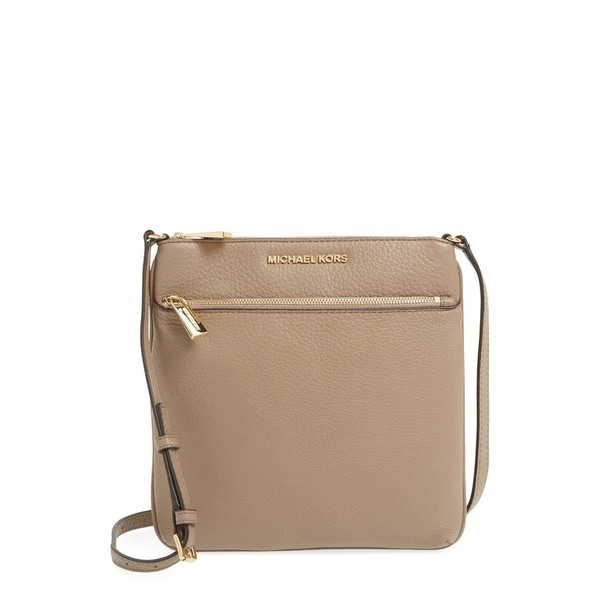 95f3334aff90aa Shop Michael Kors Small Flat Bisque Crossbody - S - Free Shipping Today -  Overstock - 21528901