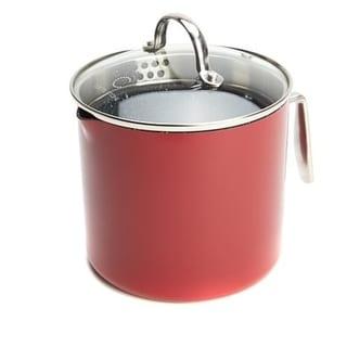 Link to Curtis Stone Dura-Pan Nonstick 3-Quart Jug Saucepan-Refurbished Similar Items in Cookware