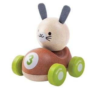 PlanToys Wooden Bunny Racer Mini Vehicle