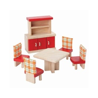 PlanToys Dollhouse Dining Room Neo Style Furniture