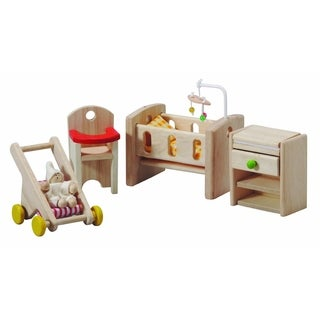 PlanToys Dollhouse Nursery Neo Style Furniture