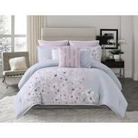 Vince Camuto Esti Floral 3 Piece Comforter Set
