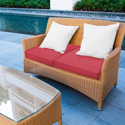 """SensorPEDIC 24"""" x 24"""" Waterproof Sunbrella Memory Foam Seat Cushion - 24""""x24"""""""