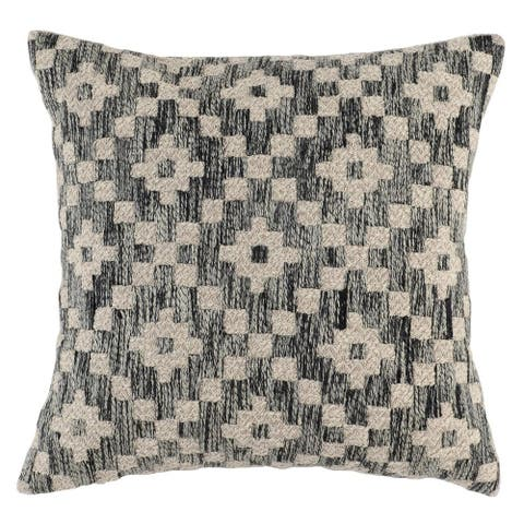 Kosas Home Ziggy Embroidered 22-inch Throw Pillow