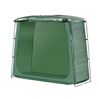 ALEKO Rectangular Space Saving Outdoor Bike Storage Tent 64 Inch Tall
