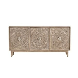 Kentira Hand Carved Console