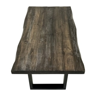 Shop Regent Faux Live Edge Coffee Table Free Shipping