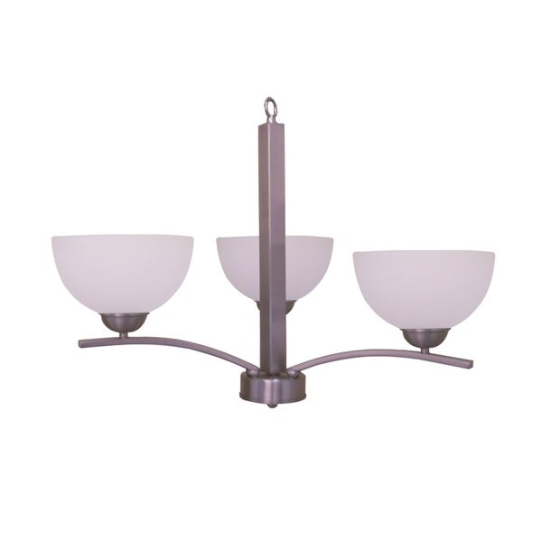 Alta Peak Collection Three Light Chandelier