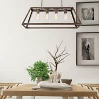 Skyline Ridge Collection Four Light Chandelier