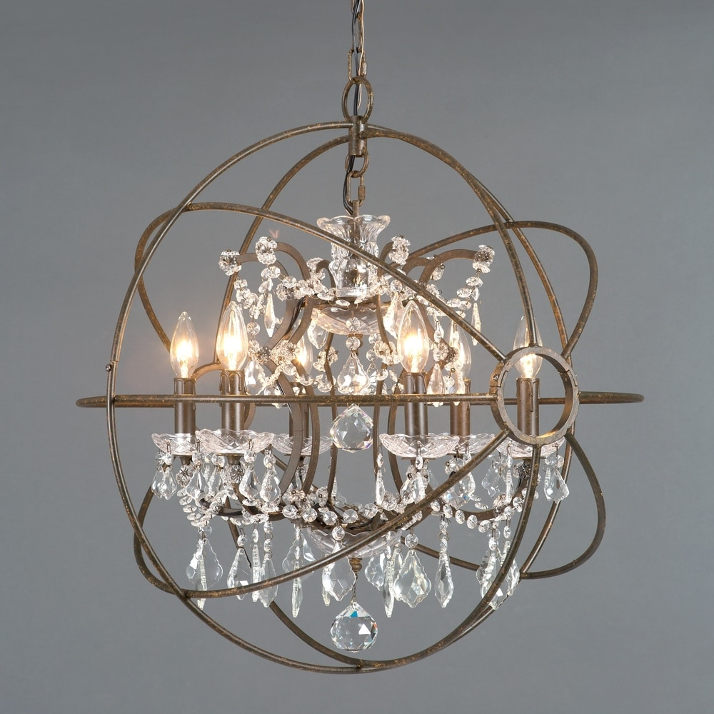 Artcraft Lighting AC10771CH 6 Light Modern Elegance Chrome Chandelier