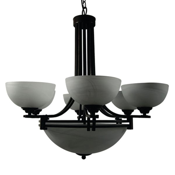 Sequoia Collection Six Light Chandelier