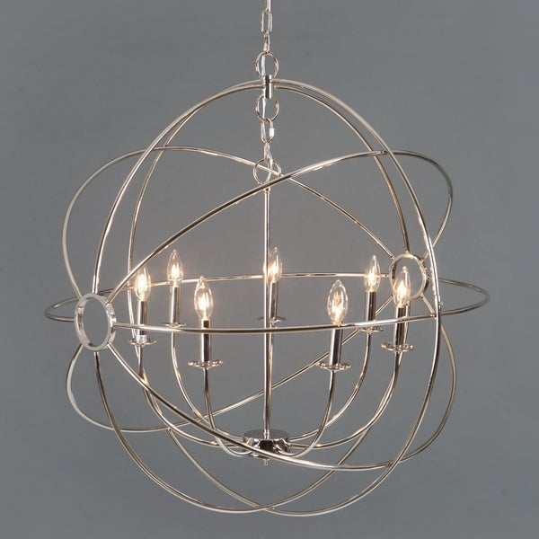 Shooting Star Collection Seven Light Chandelier