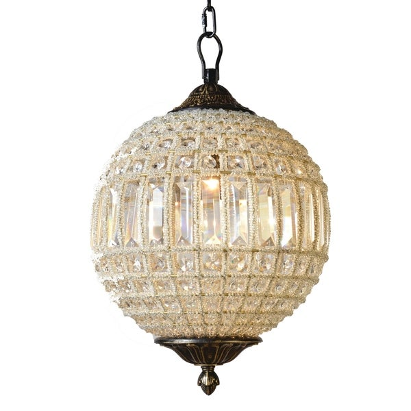 Collins Collection One Light Chandelier