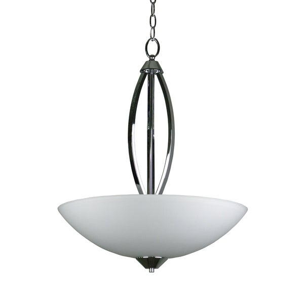 Paloma Collection Three Light Bowl Chandelier