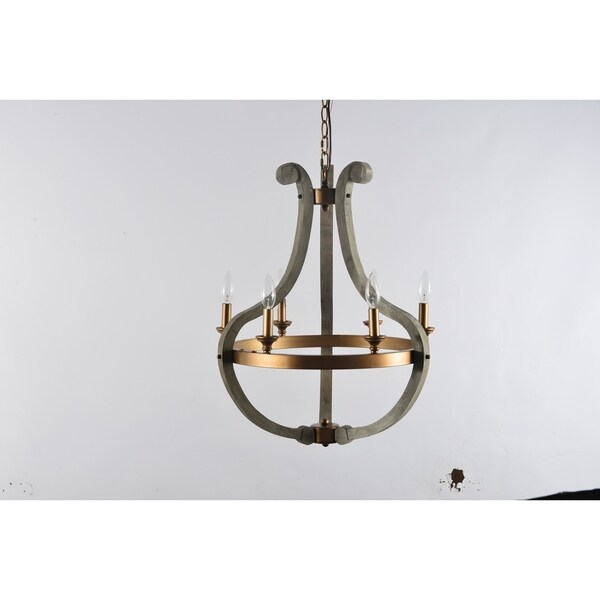 Darby Collection Six Light Chandelier