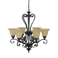 Florence Lighting Collection Six Light Chandelier