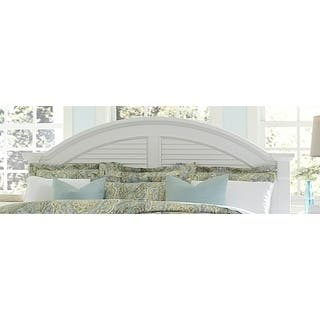Summer House I Oyster White Queen Panel Headboard