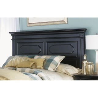 Carrington II Black Queen Panel Headboard
